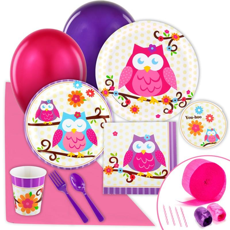 hoo princess owl diy owl blossom party ideas birthday express