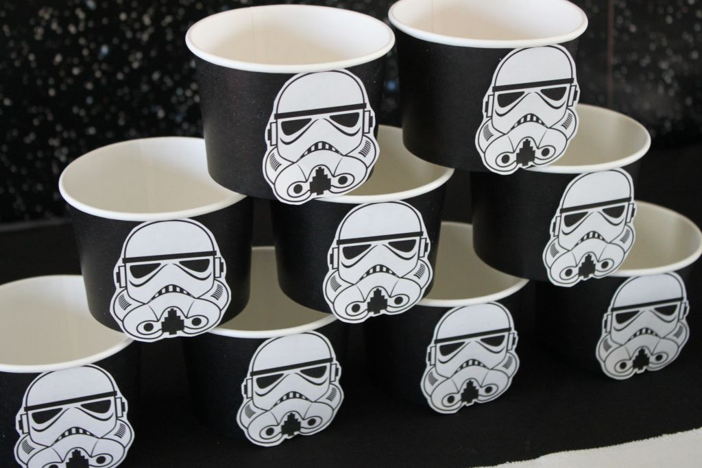 Star Wars Rebel Ice Cream Cups