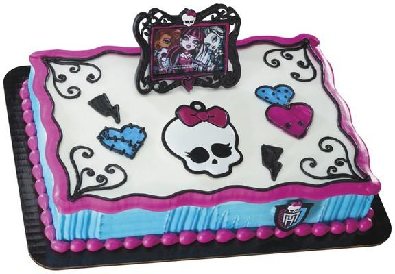 Monster High Cake Ideas Birthday Express