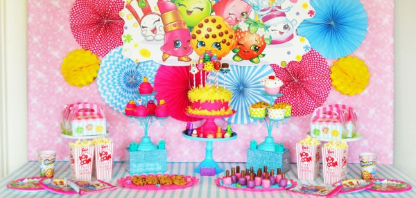 Shopkins Birthday Party By Brittany Schwaigert